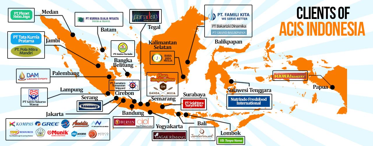 Klien dan pelanggan Acis Indonesia
