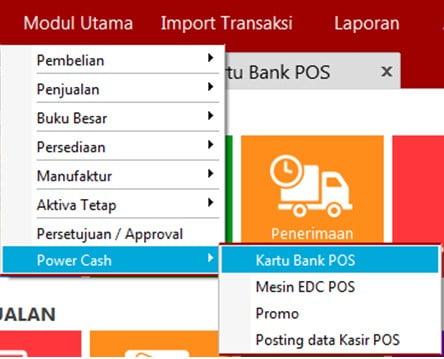Kartu Bank POS di EASY Accounting