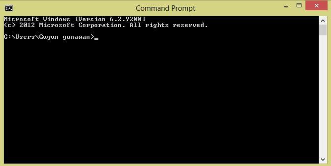 Cara Mengetahui Ip Address dan Nama Komputer Server
