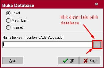 Membuka Database Accurate 5
