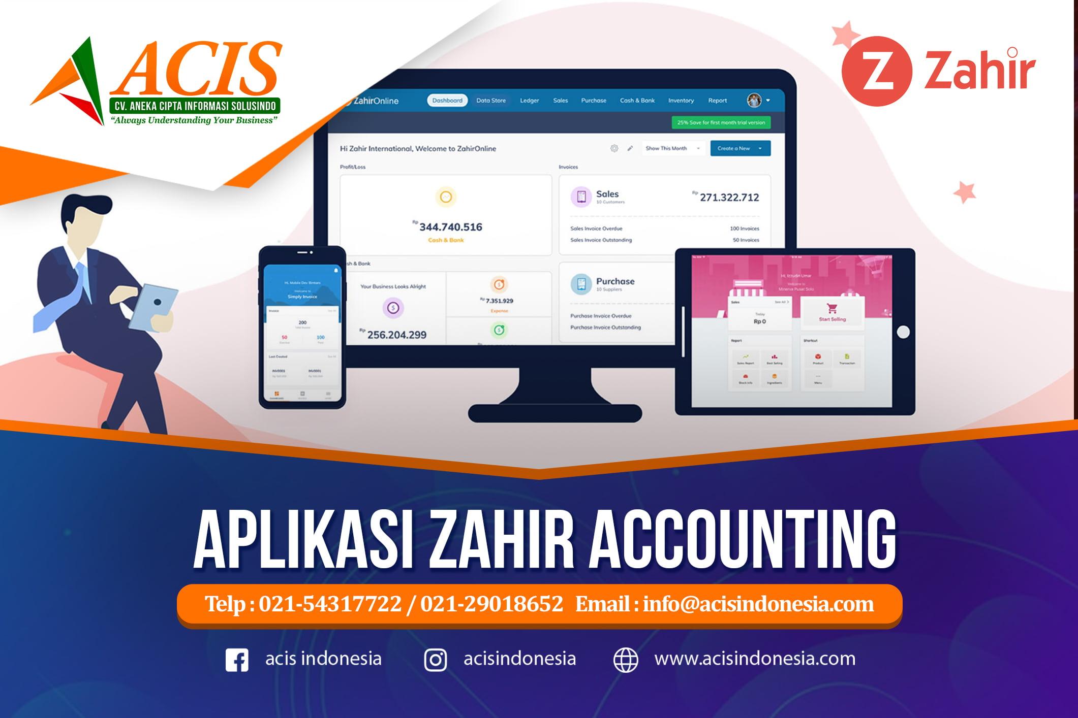 Aplikasi Zahir Accounting