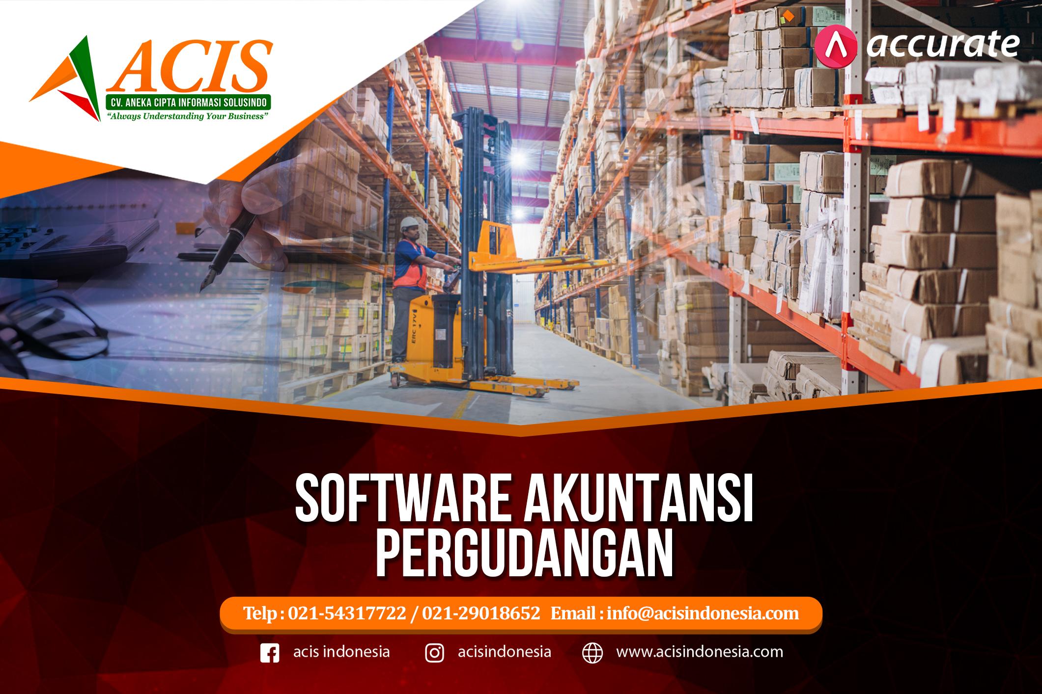 Software Akuntansi Pergudangan