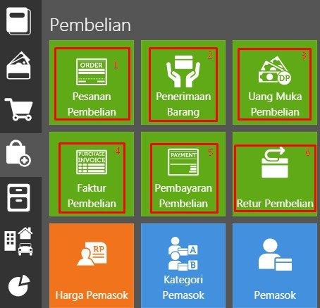 Sistem Pembelian Di Accurate Online