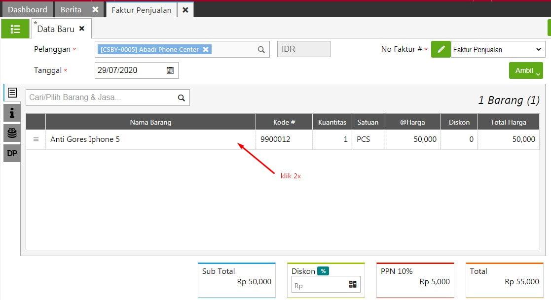 Cara Menghapus dan Mengedit Transaksi Sales Invoice Di Accurate Online