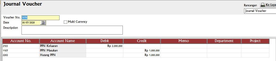 Cara Membayar PPN Di Accurate 5