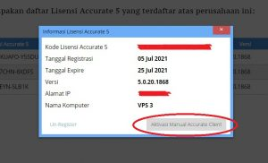 Aktivasi Manual ACCURATE License Manager 2