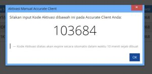 Aktivasi Manual ACCURATE License Manager 4